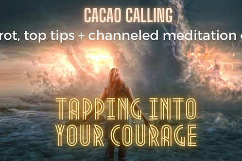 Tapping into your Courage Event + Toolkit