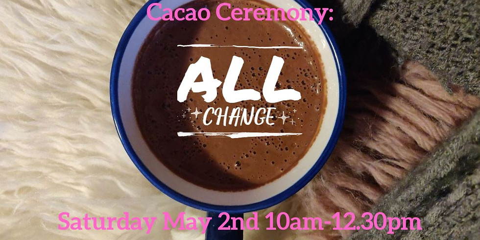 Cacao Calling:  Staying grounded in your heart as your identity/reality changes.