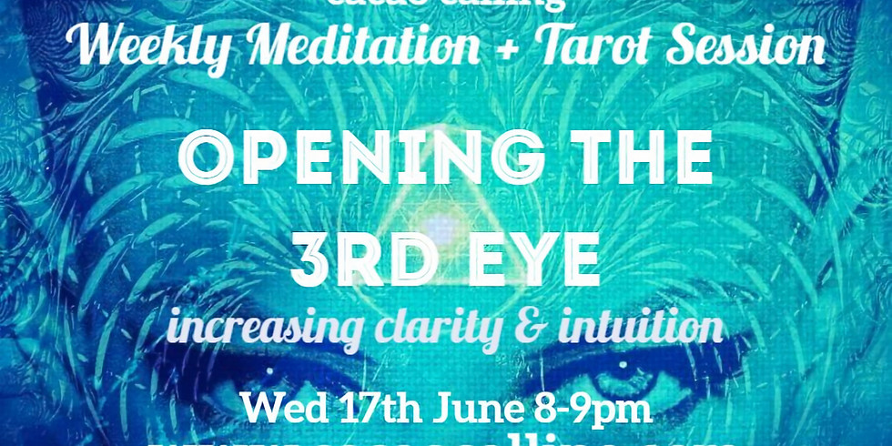 Meditation Event: Opening the 3rd eye: increasing clarity + intuition