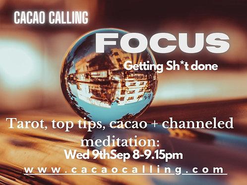 Channeled Meditation Event: Focus