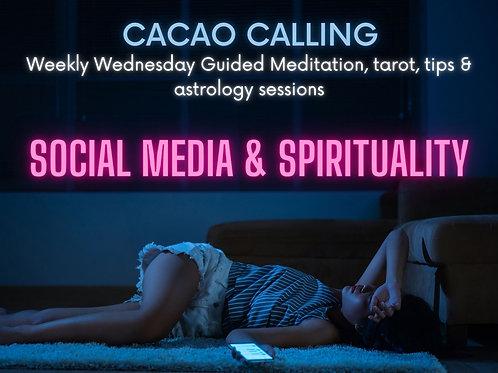 Social Media and Spirituality