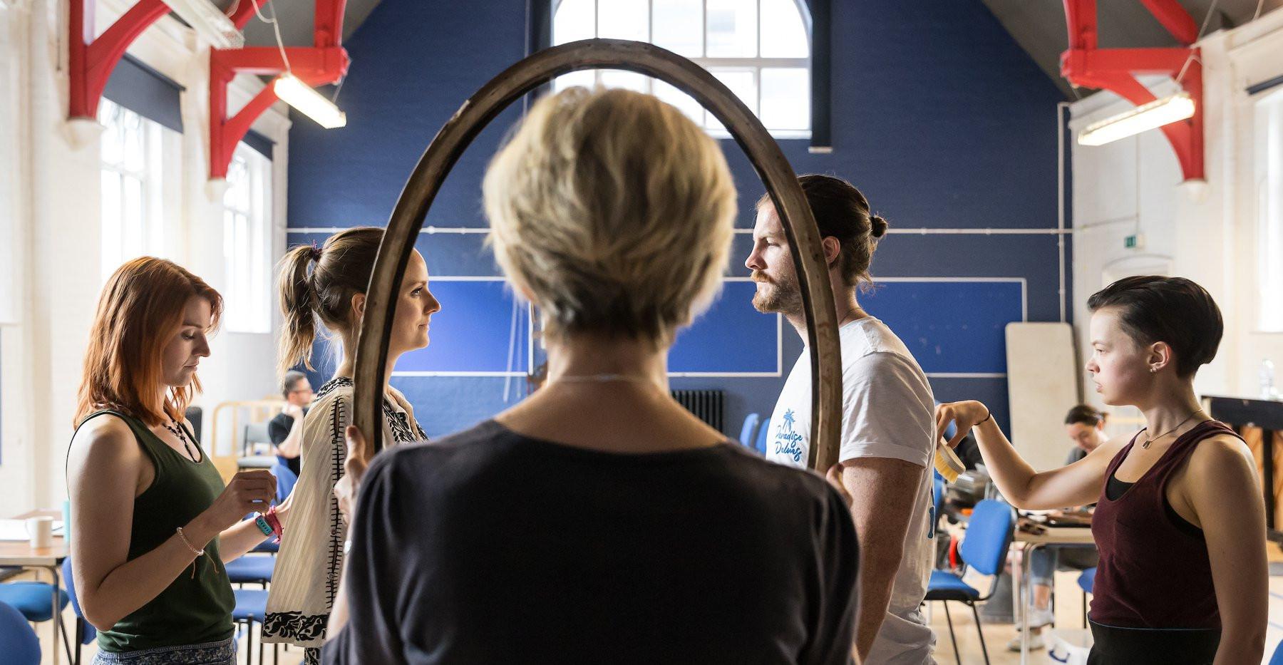 rehearsals: Lady Macbeth in Macbeth