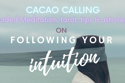Channeled Meditation Event: Following your Intuition (1st of 6)