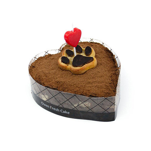 CAROB CHICKEN CAKE