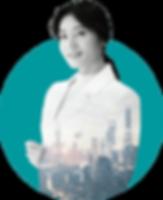 Chinese female consultant