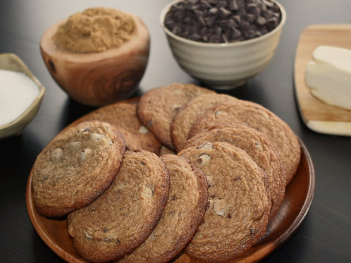 Mexican Chocolate Chip Cookies - Baked