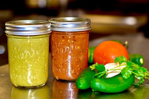 8 oz Salsa Jar
