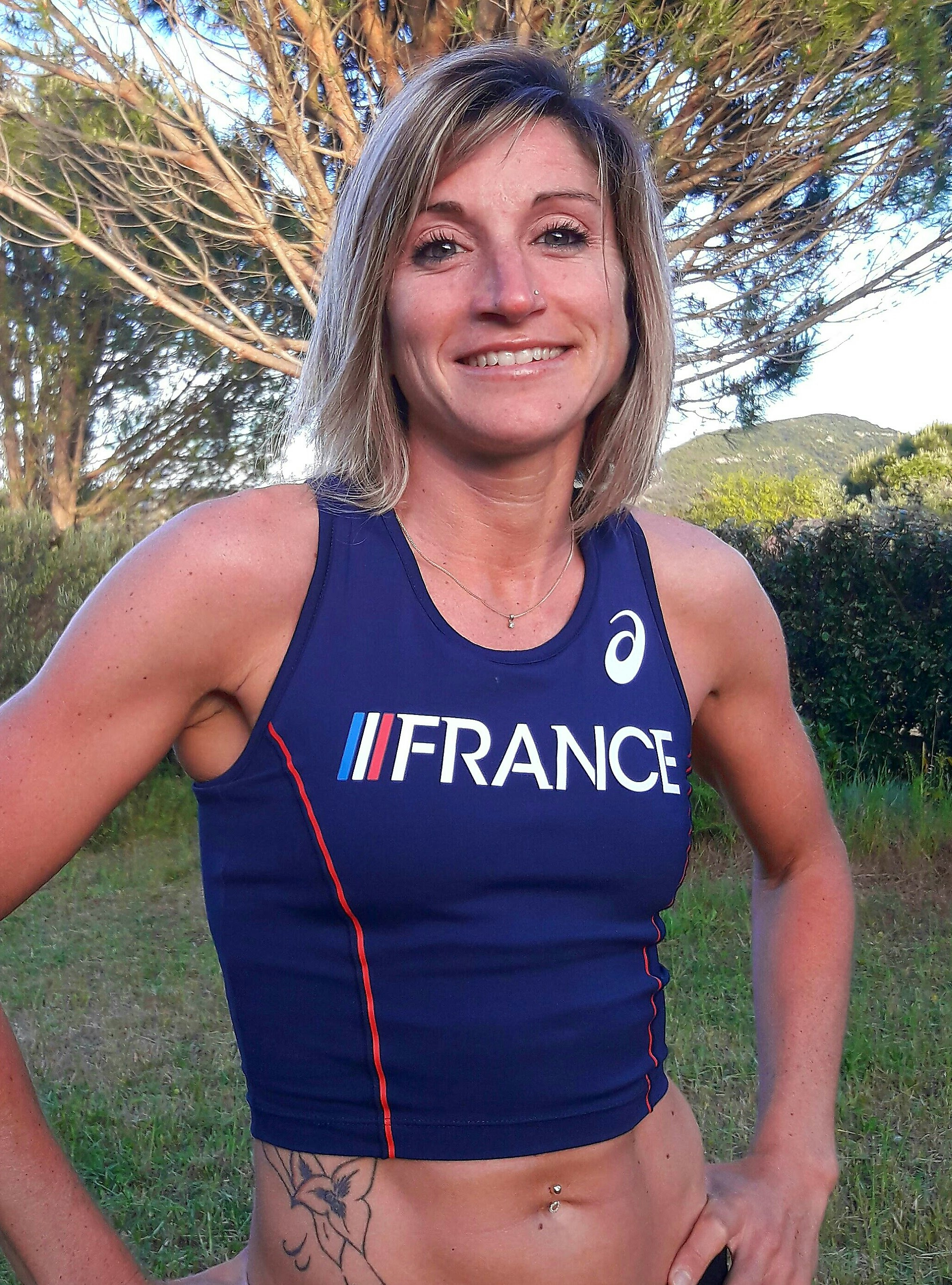 Amandine Ferrato - Equipe de France de Trail