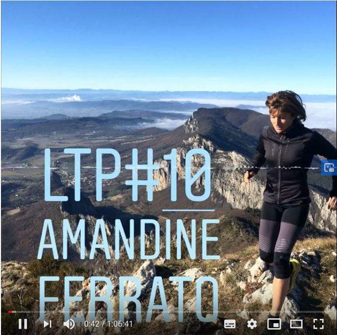 "Podcast ""Qui est Amandine Ferrato"""