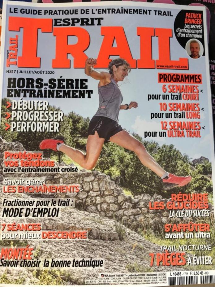 2020 - premiere page Esprit trail - Amandine Ferrato