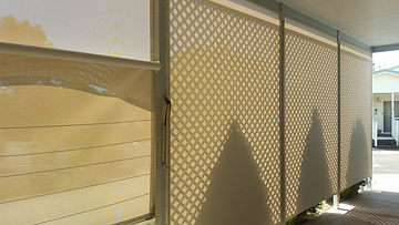 Custom Outdoor Blinds