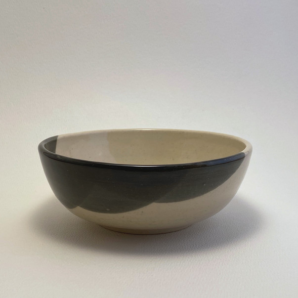Bowl - Clear over Black