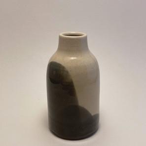 Vase - Clear over Black