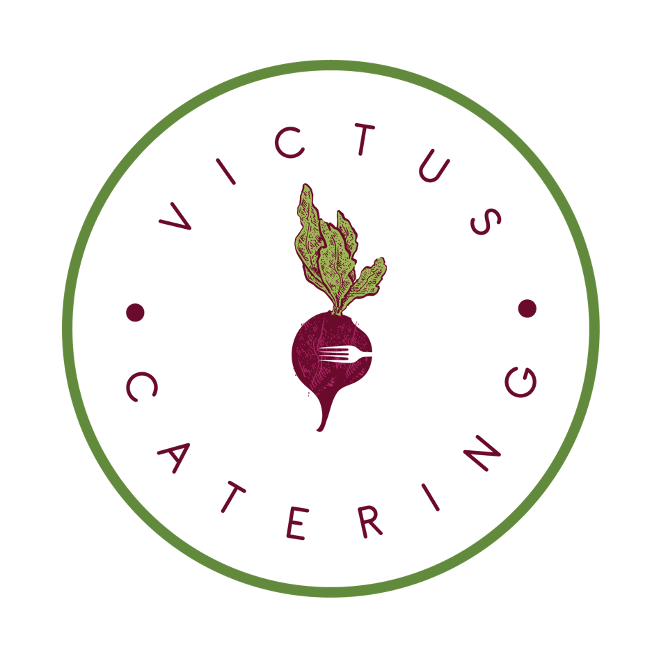 Logo of Victus Catering, a Singapore-based provider of catering services.