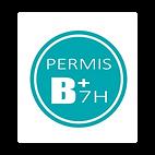Permis B+_Logo