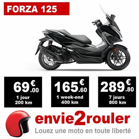Louez une Forza 125