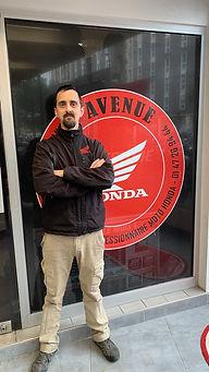 Laurent responsable SAV concession honda 7ème avenue
