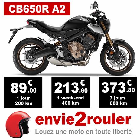 Louez une CB650R A2