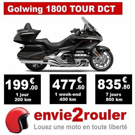Louez une Golwing 1800 Tour DCT