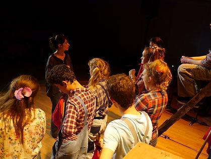 Compagnie Debout sur le Toit - Spectacle Atelier Théâtre