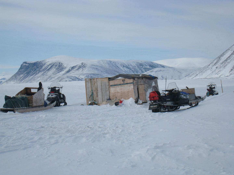 Winter Fishing Camp