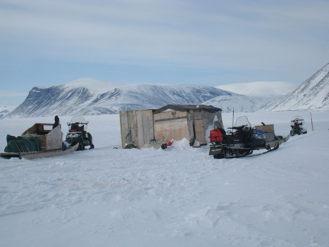 Winter Fishing Camp