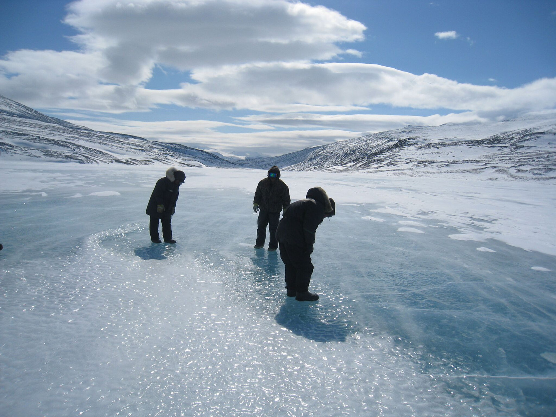 Winter Fishing Spot