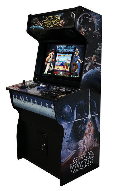 """(NEW) 32"""" Star Wars Retro Arcade - Hyperspin/Mame w/ 12k+ Games"""