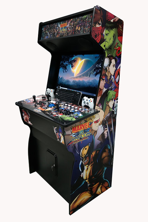 "(NEW) 32"" Marvel Vs Capcom Arcade - Hyperspin/Mame w/ 12k+ Games"