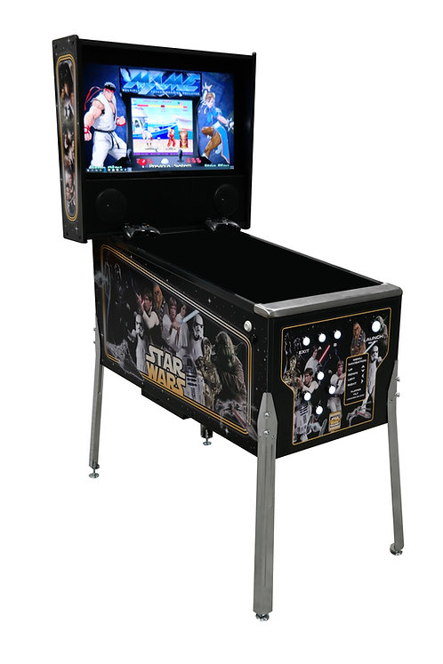 Star Wars Virtual Pinball- Mame - Hyperspin 80k+ Games