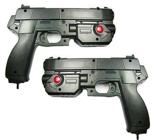 2 Light Guns w/ 2 Game buttons: USB
