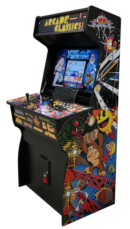 "(NEW) 32"" Classic Arcade -8TB Hyperspin / Mame Arcade with 80k Games"