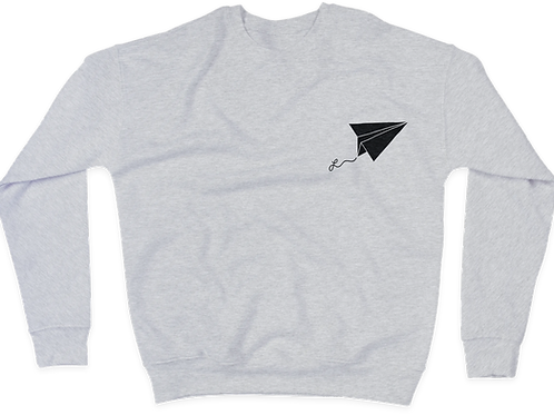 crewneck hoodies - grey