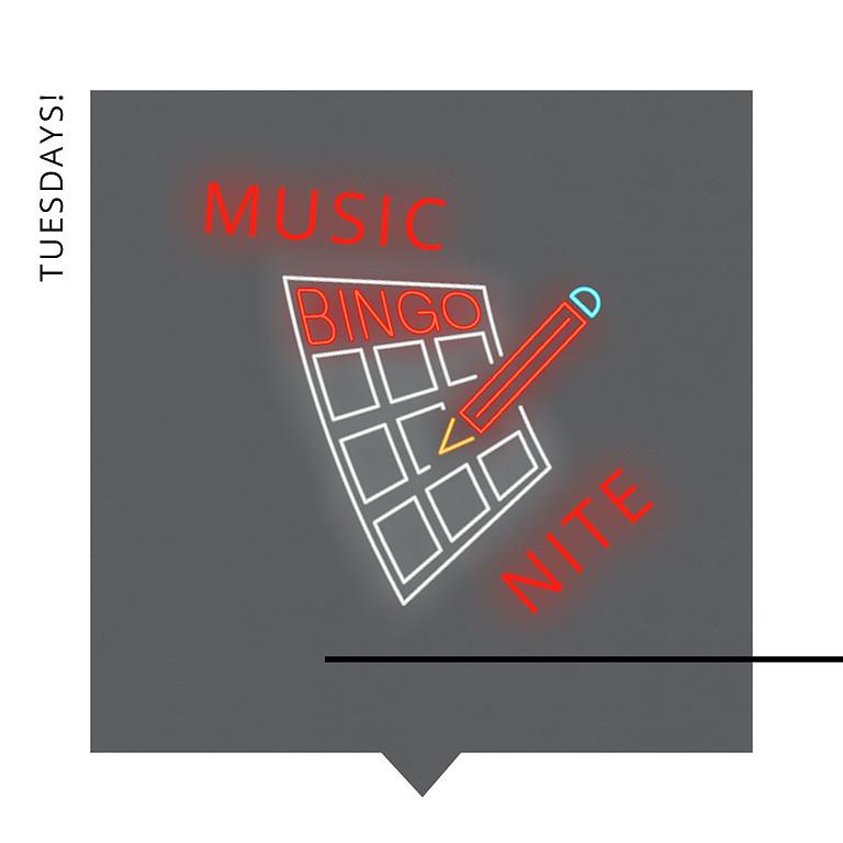 MUSIC BINGO NITE