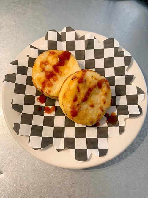 Keto Egg bite- sun-dried tomato and Mozz
