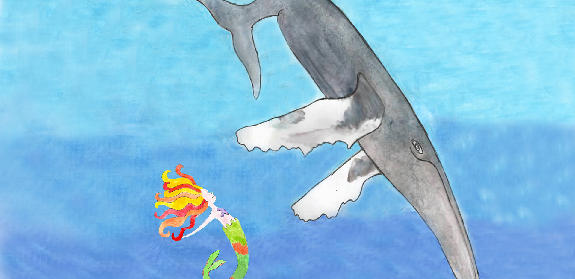 Zaza with whale