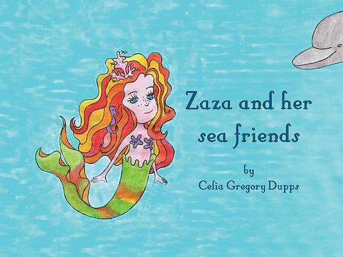 Zaza and her sea friends