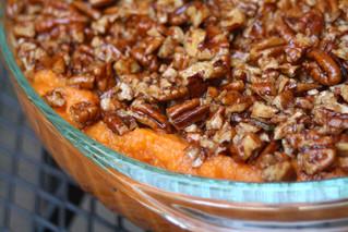 Thanksgiving Raw-ternatives:  Sweet Potato Casserole