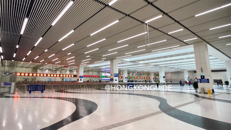 HZM Bridge Macau Port Immigration Arrival Hall