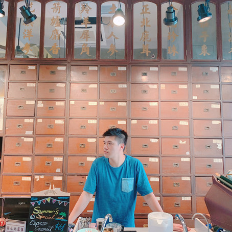 Tai Wo Tang, Century-old Chinese Clinic turns into Hip Cafe in Hong Kong 九龍城大和堂