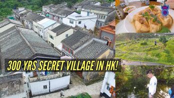 300-year-old Secret Village in Hong Kong: the Village, the Nature & the Food in Lai Chi Wo