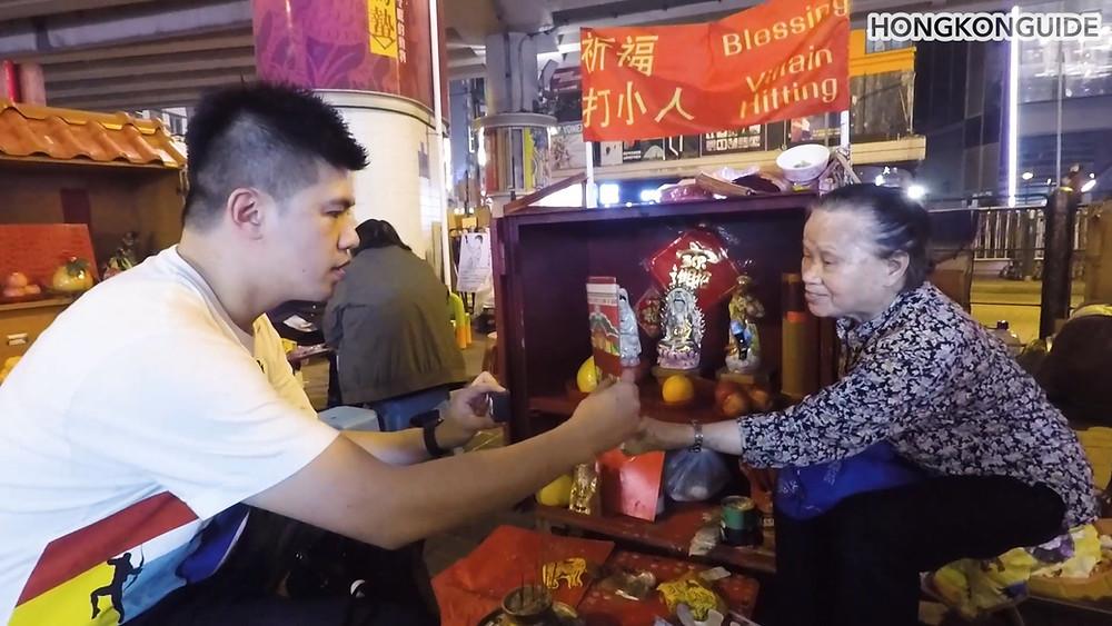 Villain hitting Causeway Bay Hong Kong Start