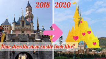 New Hong Kong Disneyland Castle set to open on 21 November!