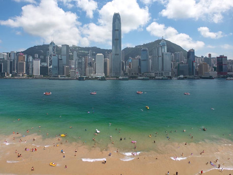 """""""Victoria Harbour Beach"""" Plan Announced by HK Government"""