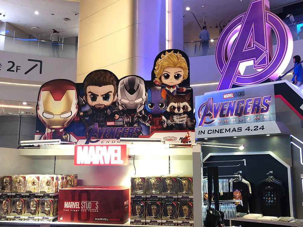 Hong Kong Avengers Endgame Exhibition pop-up store Iron Man