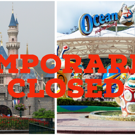 Ocean Park & Hong Kong Disneyland Temporarily Closed