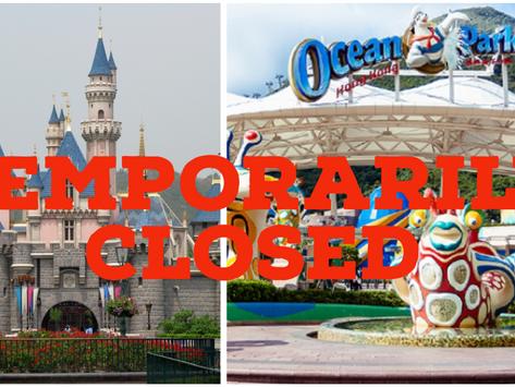 Ocean Park & Hong Kong Disneyland Temporarily Closed