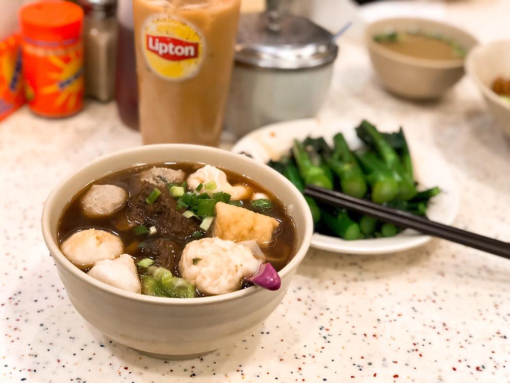 On Lee Noodle Shop, Sau Kei Wan 安利魚蛋粉麵