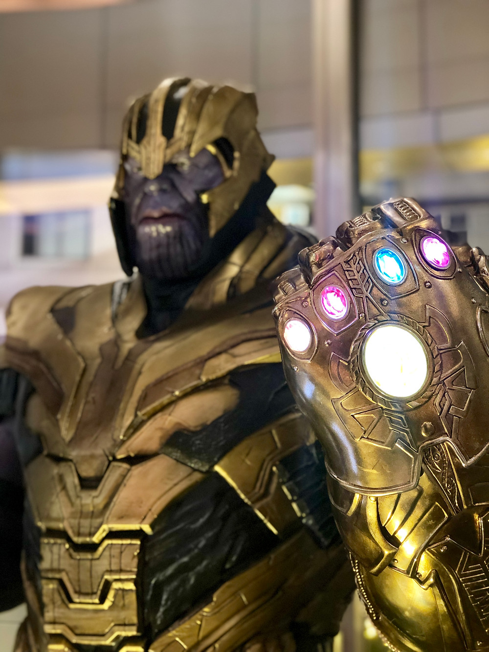 Hong Kong Avengers Endgame Exhibition Thanos
