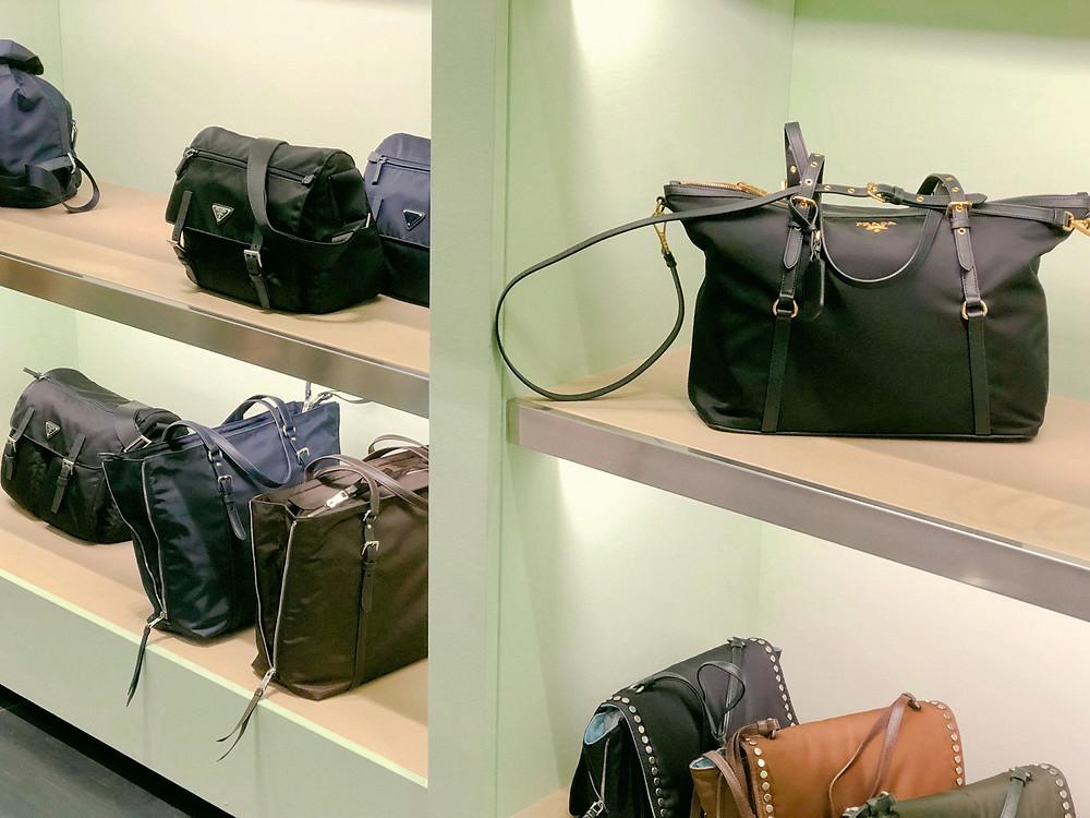 Prada outlet Hong Kong South Horizons handbags